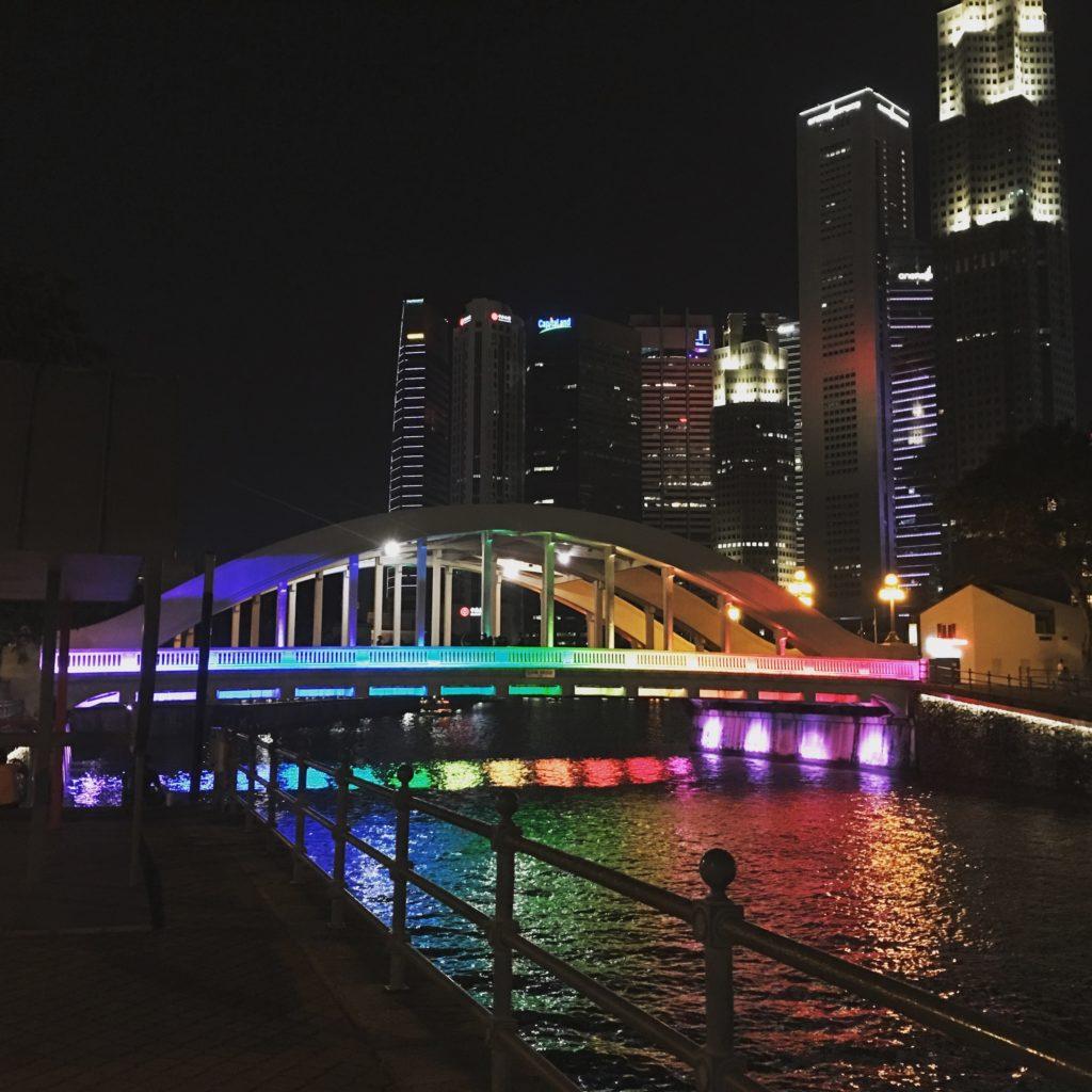 Bridge across Singapore River