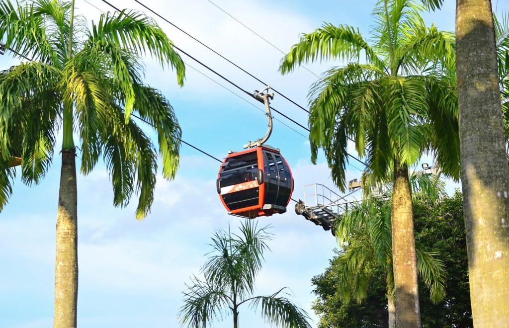 Cable Car Sentosa Singapore