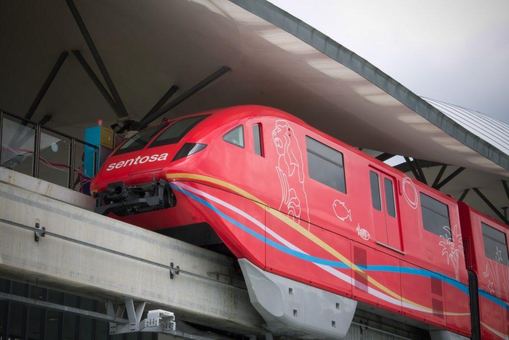 Sentosa sky train